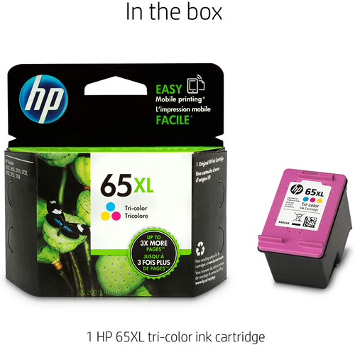 INK CARTRIDGE/ HP #65XL COLORED