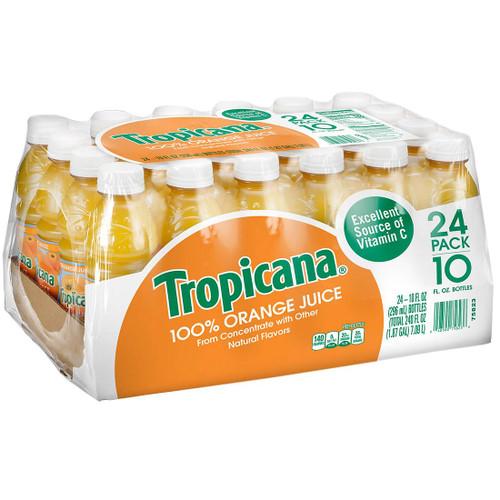 Tropicana 100% Orange Juice (10 oz., 24 pk.) - *In Store