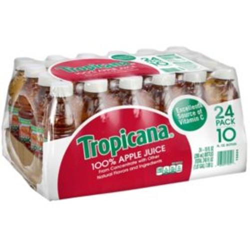 Tropicana 100% Apple Juice (10 oz., 24 pk.) - *In Store