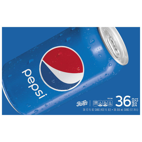 Pepsi Cola (12 oz. cans, 36 pk.) - *In Store