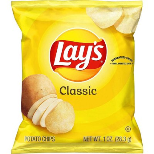 Lay's Classic Potato Chips (1 oz., 50 pk.) - *In Store
