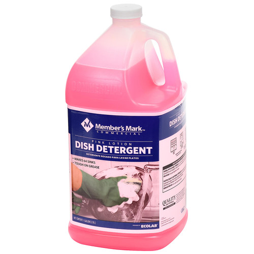 Member's Mark Commercial Pink Lotion Dish Detergent (128 oz.) - *In Store