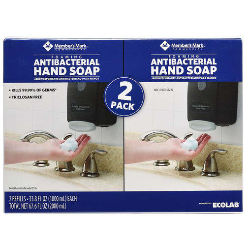 Member's Mark Commercial Foaming Antibacterial Hand Soap (2 pk.) - *In Store