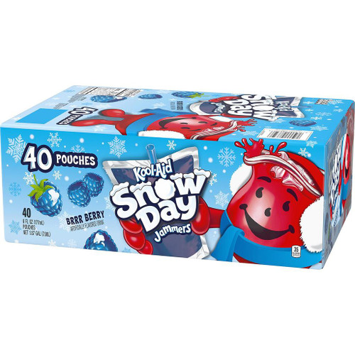 Kool-Aid jammers snow day Berry -Berry (6oz / 10pk)