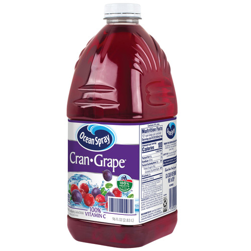 OCEAN SPRAY Cran-Grape Juice Drink (96oz / 1ct)
