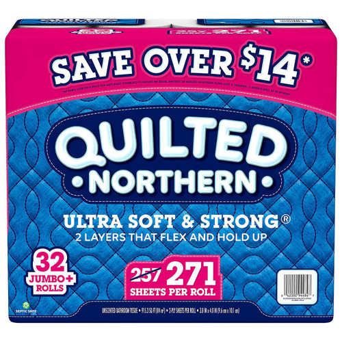 QUILTED NORTHERN 32CT T/PAPER