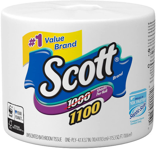 SCOTT UNSCENTED 36 ROLLS T/PAPER
