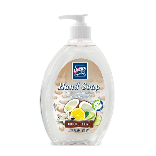 LUCKY COCONUT LIME LIQUID HAND SOAP
