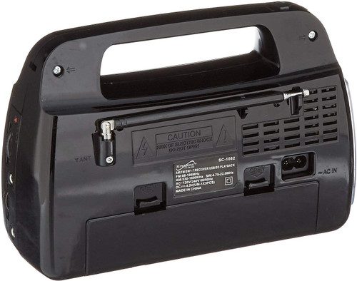 SUPERSONIC 9BND RADIO/USB/SD/FL