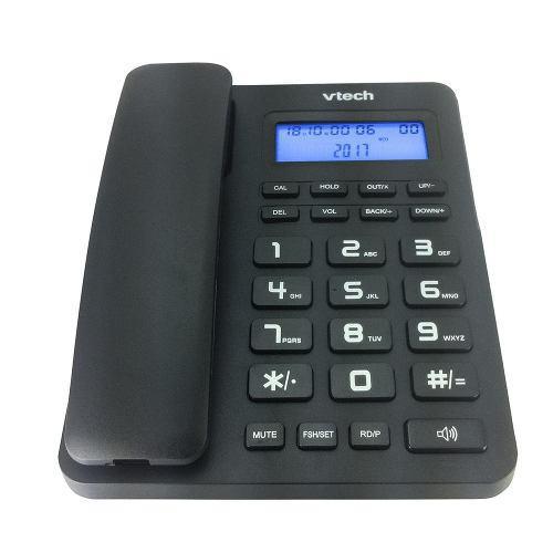 VTECH VTC500B - CORDED PHONE-BLK