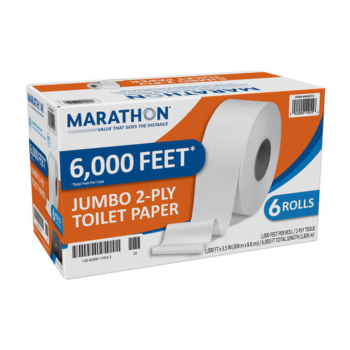 MARATHON 6CT JUMBO TOILET PAPER