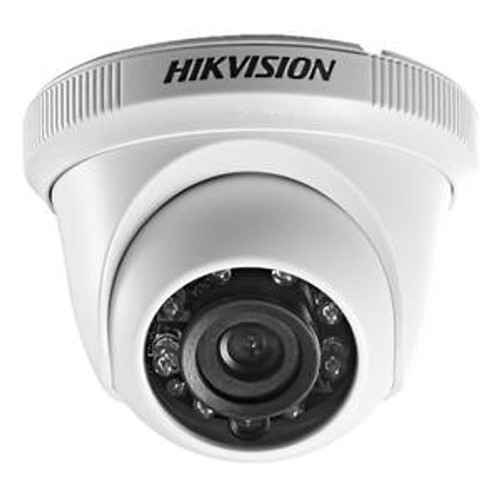 Hikvision - Turbo 720p Turret Camera 2.8mm IR 20m Plastic - IP66