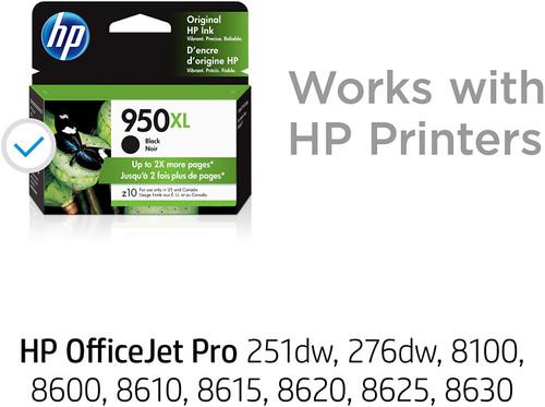 INK CARTRIDGE, HP #950 XL BLACK