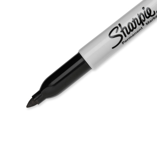 Sharpie Permanent Markers, Fine Point, Black, 2 Count  - *Ships from Miami*