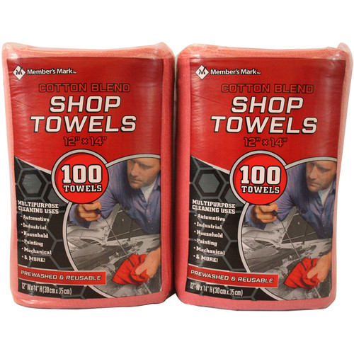 Member's Mark Commercial Shop Towels (100ct.) - *Special Order