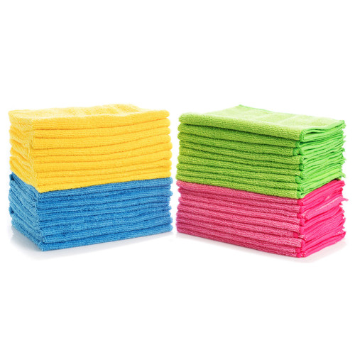 Hometex Microfiber Towels (36 pk., 4 colors) - *Special Order