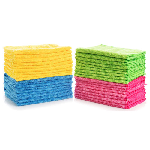 Hometex Microfiber Towels (48 pk., 4 colors) - *Special Order