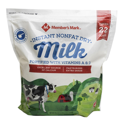 Member's Mark Non-Fat Instant Dry Milk (70.4 oz.) - *Special Order