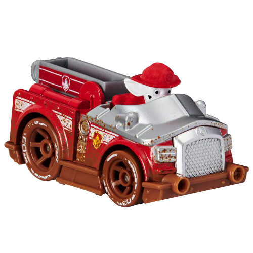 Marshall Off Mud Road True Metal Paw Patrol Diecast Vehicle 1/55 Scale