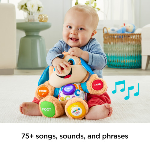 Fisher-Price Laugh & Learn Smart Stages Puppy with 75+ Songs & Sounds