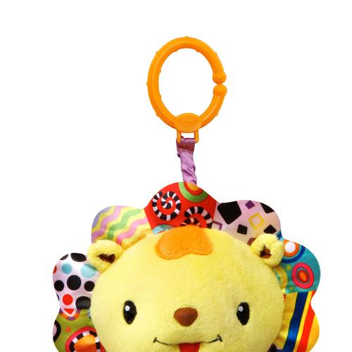 VTech Crinkle and Roar Lion, Plush Sensory Toy for Baby Infant