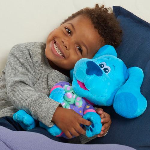 Blue's Clues & You! Bedtime Blue, 13-inch plush, Ages 3 +