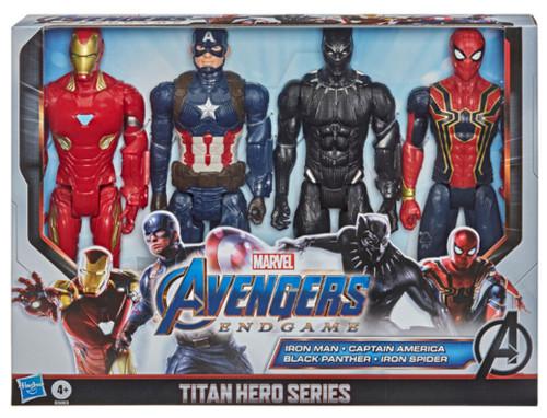 Marvel Avengers: Endgame Titan Hero Series Action Figure 4 Pack
