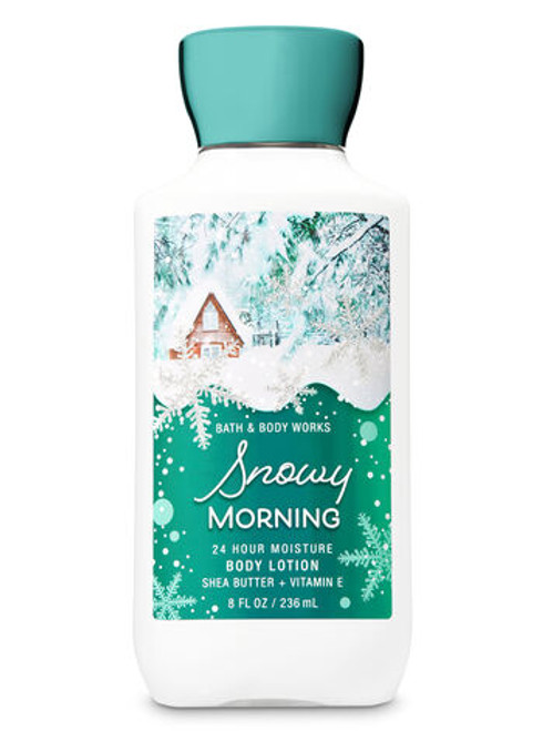 SNOWY MORNING SUPER SMOOTH BODY LOTION - *Ships from Miami
