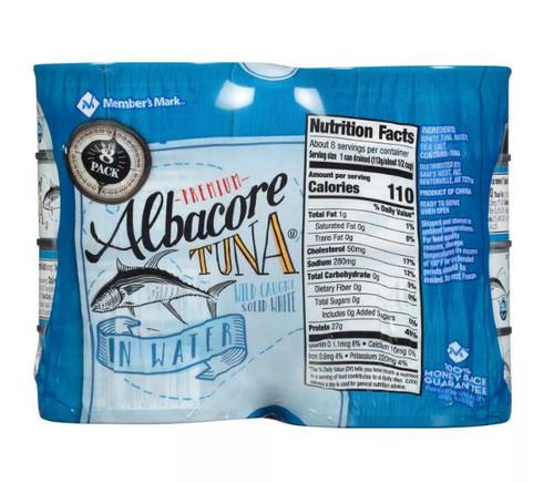 Member's Mark Solid White Albacore Tuna (5 oz., 8 pk.) - *In Store