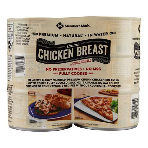 Member's Mark Premium Chunk Chicken Breast (12.5 oz., 6 ct.) - *In Store