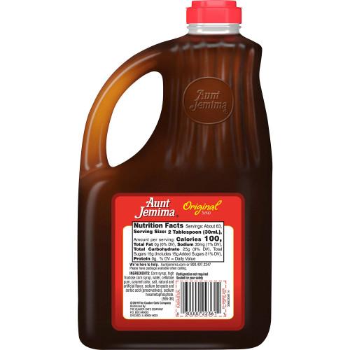 Aunt Jemima Original Syrup (64 oz.) - *In Store