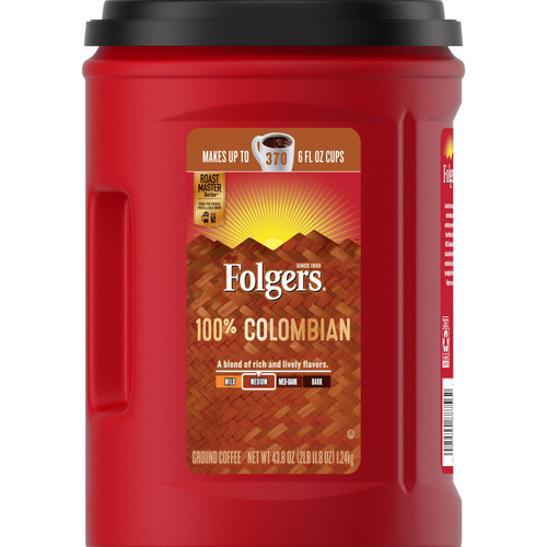 Folgers 100% Colombian Coffee (43.8 oz.) - *In Store
