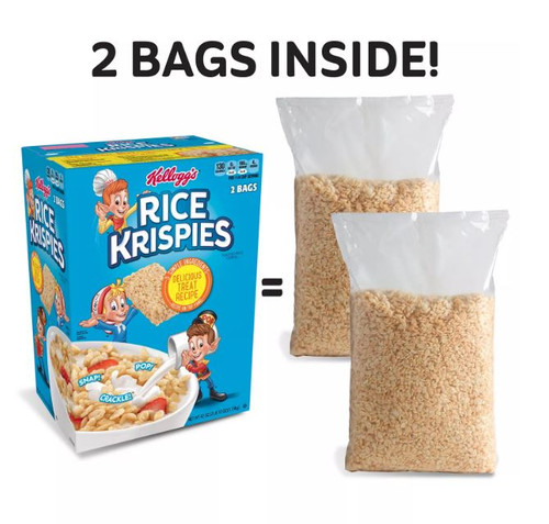 Kellogg's Rice Krispies Breakfast Cereal (42 oz., 2 pk.) - *In Store