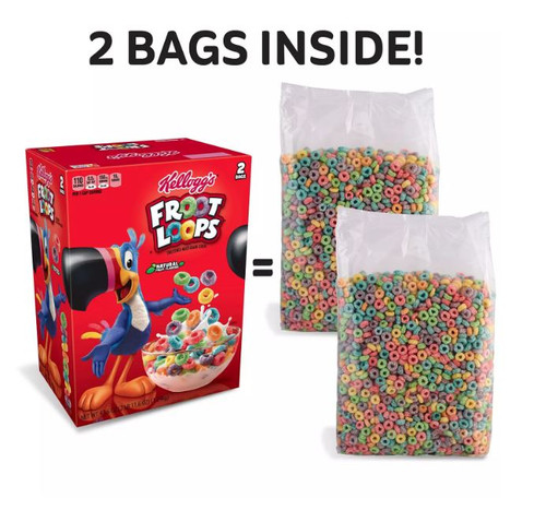 Kellogg's Froot Loops Cereal (43.6 oz.) - *In Store