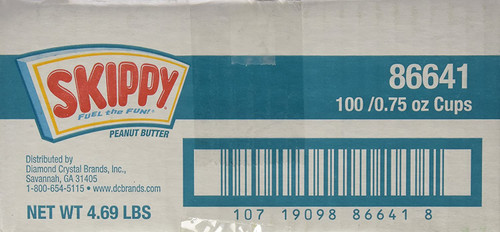 SKIPPY 100CT/.75OZ P/BUTTER CUPS