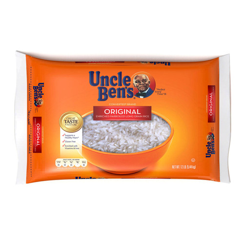 Uncle Ben's Original Converted Brand Enriched Parboiled Long Grain Rice (12 lb. bag) - *In Store