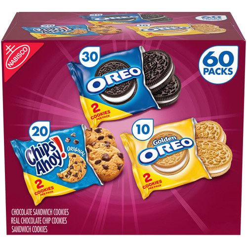 Nabisco Sweet Treats Cookie Variety Pack (60 pk.) - *In Store