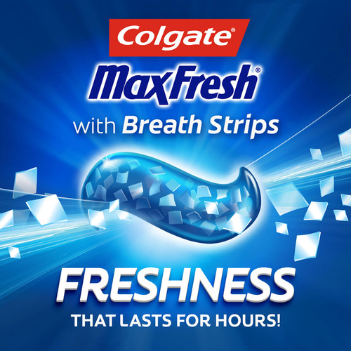 Colgate MaxFresh Toothpaste, Cool Mint (7.6 oz., 5 pk.) - *In Store