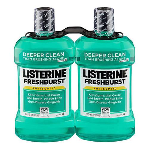 Listerine Freshburst Antiseptic Mouthwash (1.5L, 2 pk.) - *In Store