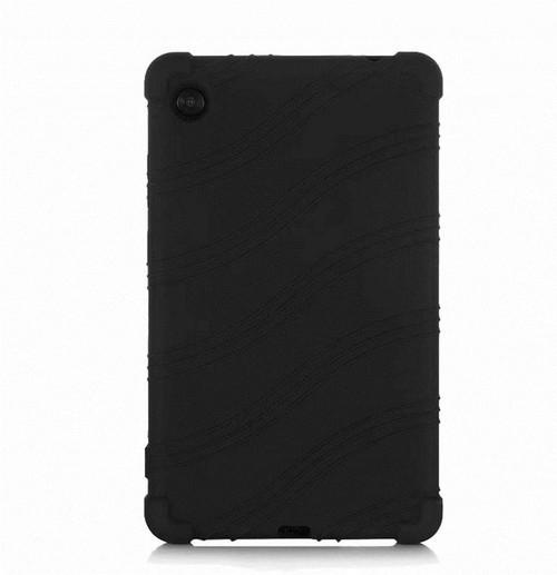 HminSen Lenovo Tab M7 Case, Kids Friendly Soft Silicone Shockproof Protective Cover for Lenovo Tab M7 (TB-7305F/TB-7305L/TB-7305X) Tablet (Black) *ship from miami
