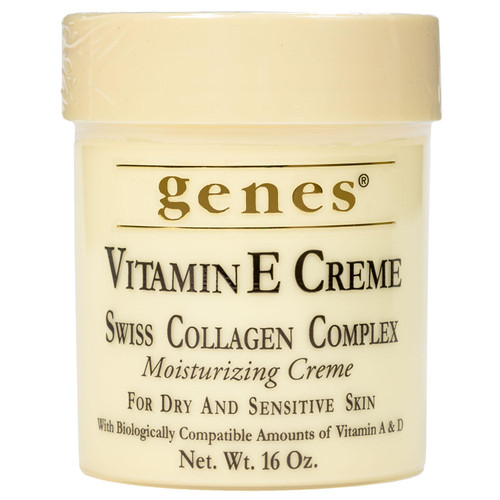 Genes Vitamin E Creme (16 oz.) - *In Store