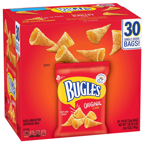 Bugles Original Flavor (30 pk.) - *In Store