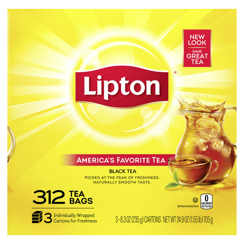 Lipton Tea Bags (312 ct.) - *In Store