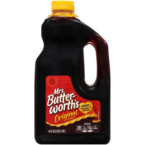 Mrs. Butterworth'sAr Original Syrup (64 oz., 2 pk.) - *In Store