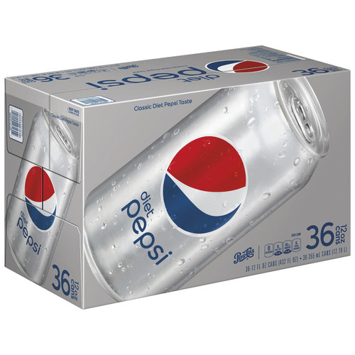 Diet Pepsi (12 oz. cans, 36 pk.) - *In Store