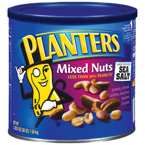 Planters Mixed Nuts with Sea Salt (56 oz.) - *In Store