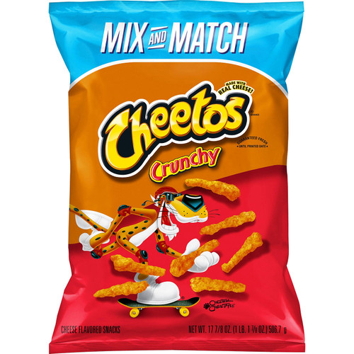 Cheetos Crunchy Cheese Flavored Snacks (17.875 oz.) - *Special Order