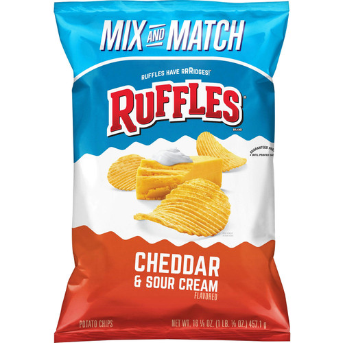 Ruffles Cheddar and Sour Cream Potato Chips (16.125 oz.) - *Special Order