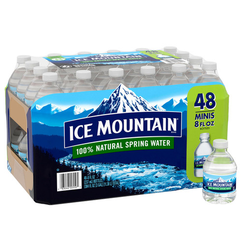 Ice Mountain 100% Natural Spring Water (8oz / 48pk) - *Special Order