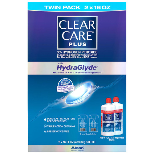 Clear Care Plus Cleaning & Disinfecting Solution (32 oz.) - *Special Order